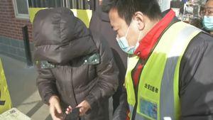 安平县疫情防控 志愿者在行动