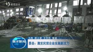 景县:激发民营企业发展新活力